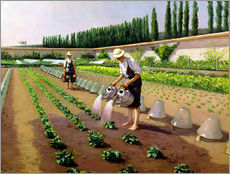 Gallery Print  The Gardeners - Gustave Caillebotte