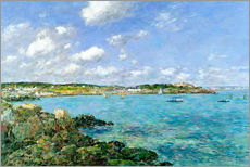 Gallery print  The Bay of Douarnenez - Eugène Boudin