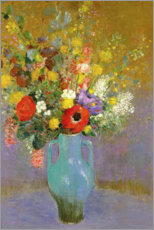Gallery print  Bouquet of Wild Flowers - Odilon Redon