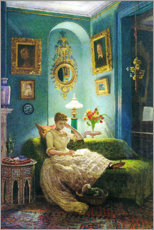 Wall sticker  An evening at home - Sir Edward John Poynter