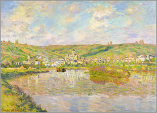 Gallery print  Late Afternoon in Vetheuil - Claude Monet