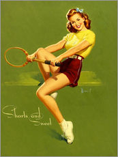 Gallery print  Pin Up - Shorts and Sweet - Al Buell