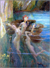 Gallery print  Water Nymphs 1927 - Gaston Bussiere