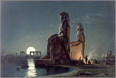 Gallery print  The Colossi of Memnon, Thebes - Carl Friedrich Heinrich Werner