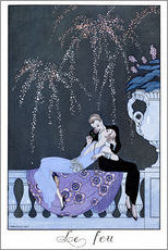 Gallery Print  The Fire - Georges Barbier