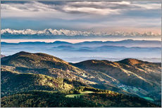 Gallery print  Black Forest Alps Panorama - Andreas Wonisch