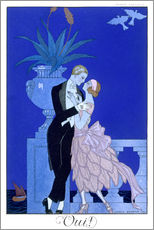 Wall sticker  Yes! 1921 - Georges Barbier