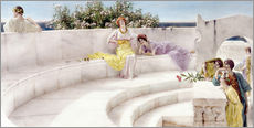 Gallery print  Under the Roof of Blue Ionian Weather - Lawrence Alma-Tadema