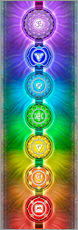 Wall Stickers  The Seven Chakras  - Series II - Dirk Czarnota