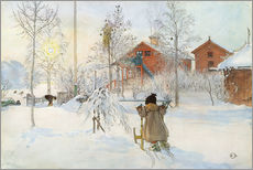 Gallery Print  The Yard and Wash-House - Carl Larsson