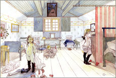 Gallery print  Mamma's and the Small Girl's Room - Carl Larsson