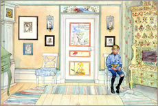 Wall sticker  In the Corner - Carl Larsson