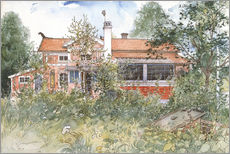 Gallery Print  The Cottage - Carl Larsson