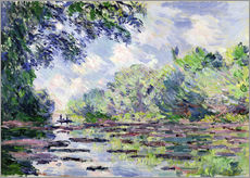 Gallery Print  Seine at Giverny - Claude Monet
