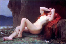 Wall sticker  Mary Magdalene in the Cave - Jules Joseph Lefebvre