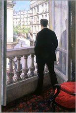 Wall sticker  Man at the Window - Gustave Caillebotte