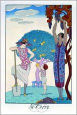 Gallery print  The earth, 1925 - Georges Barbier