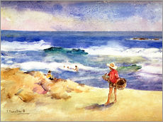 Wall Sticker  Boy on the Sand - Joaquin Sorolla y Bastida