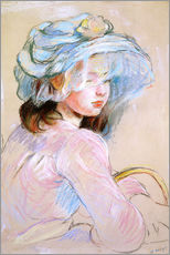 Gallery print  Girl with a Basket - Berthe Morisot
