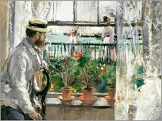 Gallery print  Manet on the Isle of Wight - Berthe Morisot