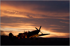 Gallery print  Spitfire Rest Easy - airpowerart
