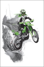 Wall sticker  Motocross - Tompico