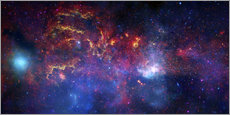 Gallery Print  central region of the Milky Way galaxy - Stocktrek Images