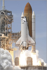 Wall sticker  Atlantis Space shuttle - Stocktrek Images