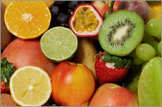 Gallery print  Fruits Background - Thomas Klee