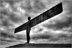 Wall Stickers  Angel Of The North - Simon West