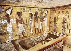 Wall sticker Grave of Tutankhamun in the Valley of the Kings