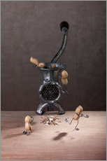 Wall Stickers  Simple Things - Meat Grinder - Nailia Schwarz