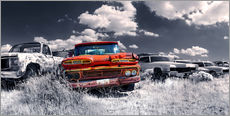 Gallery print  Route66 - car dump - Michael Rucker