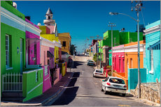Gallery Print  Bo Kaap, Cape Town, South Africa - Stefan Becker