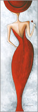 Gallery print  Lady in red - Megan Duncanson