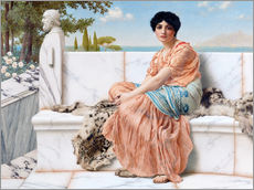Wall Stickers  In The Days Of Sappho - John William Godward