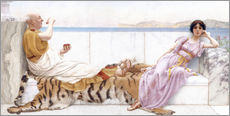 Gallery print  Eighty and eighteen - John William Godward