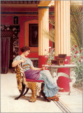 Wall Sticker  The Jewel Casket - John William Godward