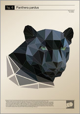 Gallery print  fig6 Polygonpanther Poster - Labelizer