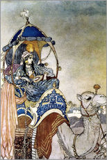 Gallery print  Queen of Sheba - Edmund Dulac