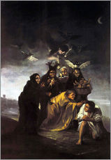 Wall sticker  The Spell, The Witches - Francisco José de Goya