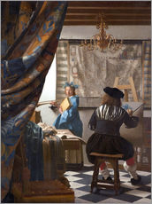 Wall sticker  The painting art - Jan Vermeer