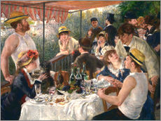 Wall sticker  Luncheon of the boating party - Pierre-Auguste Renoir