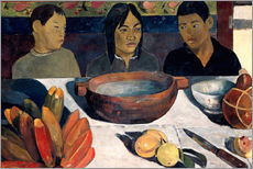 Wall sticker  The Meal, The Bananas - Paul Gauguin