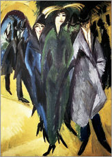 Wall Sticker  Women in the Street - Ernst Ludwig Kirchner