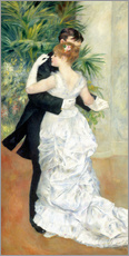 Gallery print  Dance in the city - Pierre-Auguste Renoir