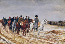 Wall Stickers  Napoleon on campaign - Jean-Louis Ernest Meissonier