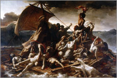 Gallery print  Raft of the Medusa - Theodore Gericault