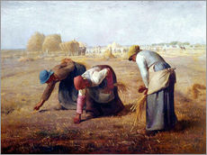 Gallery Print  The Gleaners - Jean-François Millet