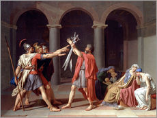 Wall sticker  Oath of the Horatii - Jacques-Louis David